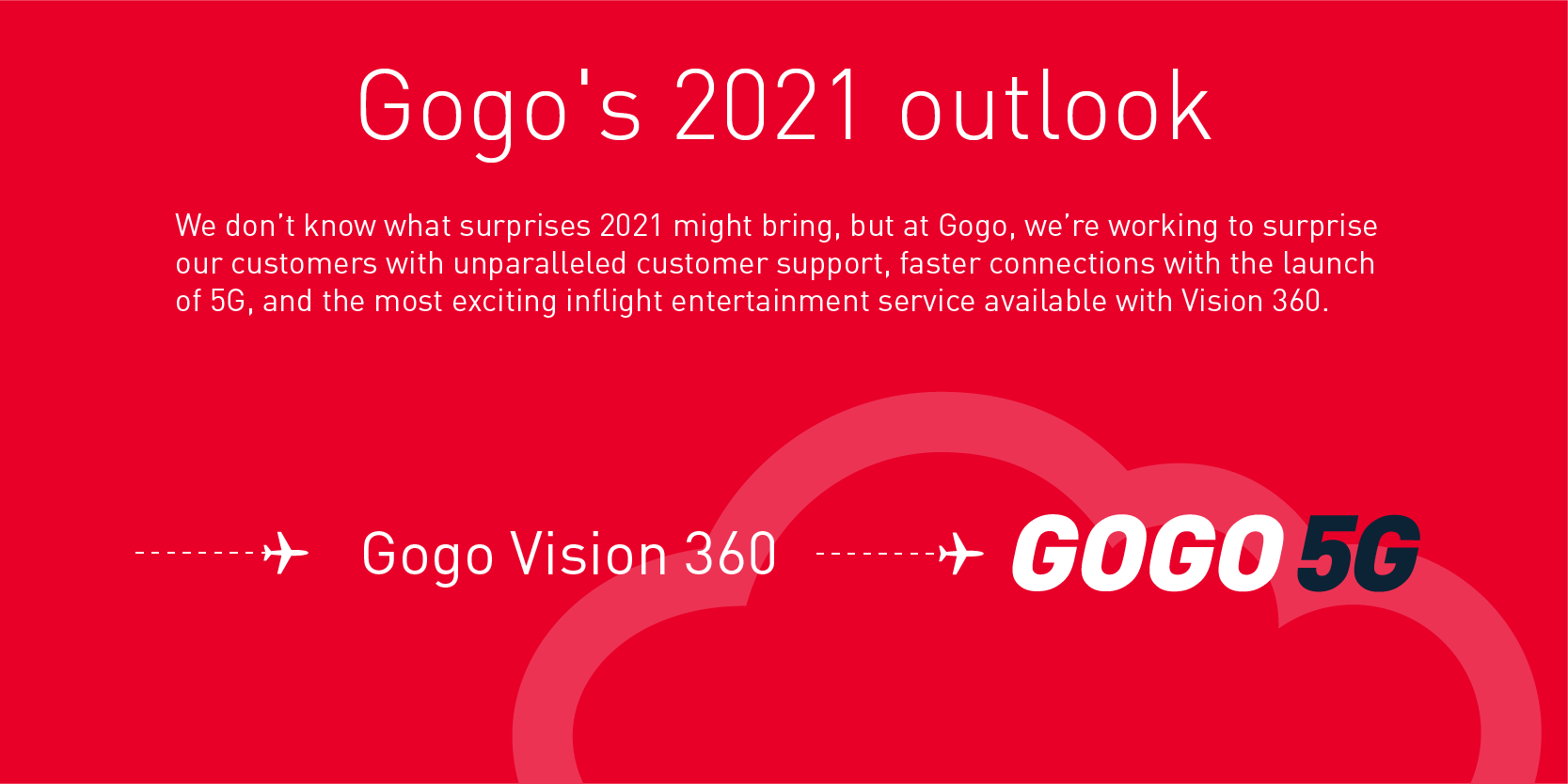Gogo's 2021 outlook