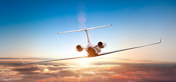 Corporate executives and pilots benefit from inflight internet