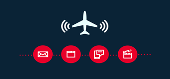Who's using inflight Wi-Fi? And what for?