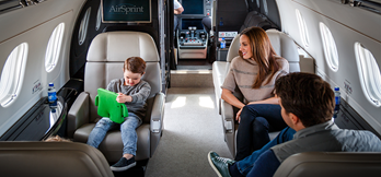AirSprint Private Aviation improves owner and crew experience with Wi-Fi onboard