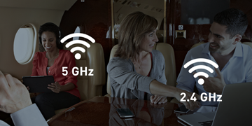 Gogo AVANCE offers dual-band Wi-Fi in the cabin